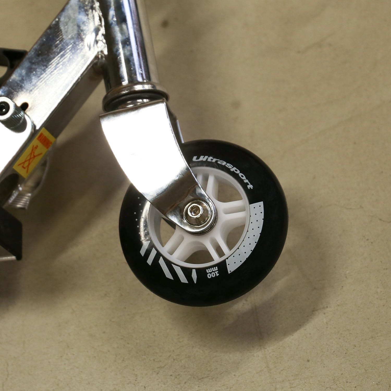Unisex Adulto Ultrasport Neum/áticos para Scooters de 100 Mm con Rodamientos de Bolas ABEC 3 Rueda para Patinete
