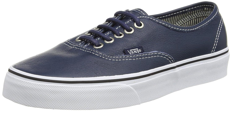 Vans Authentic, Unisex-Erwachsene Sneakers  34.5 EU|Blau (Dress Blues/Stripes)
