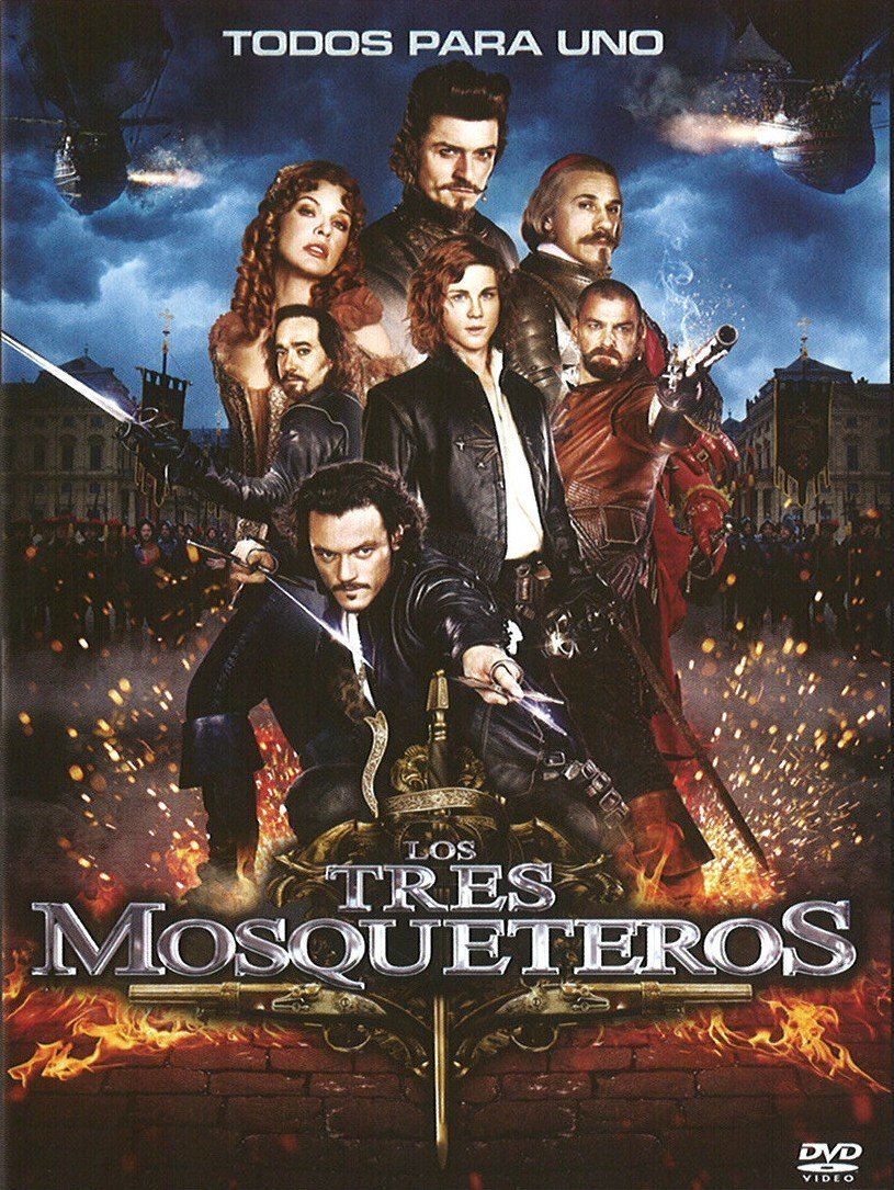 Los Tres Mosqueteros Dvd Amazon Es Lerman Logan Jobobich Milla Anderson Paul W S Lerman Logan Cine Y Series Tv