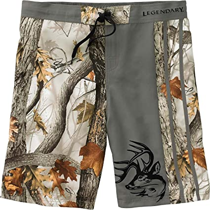 489e9e19b4 Legendary Whitetails Men's God's Country Camo Lakeside Swim Shorts God's  Country ...