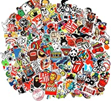 Cool Sticker 100pcs Random Music Film Vinyl Skateboard Guitar Travel Case Sticker Door Laptop Luggage Car Bike Bicycle...