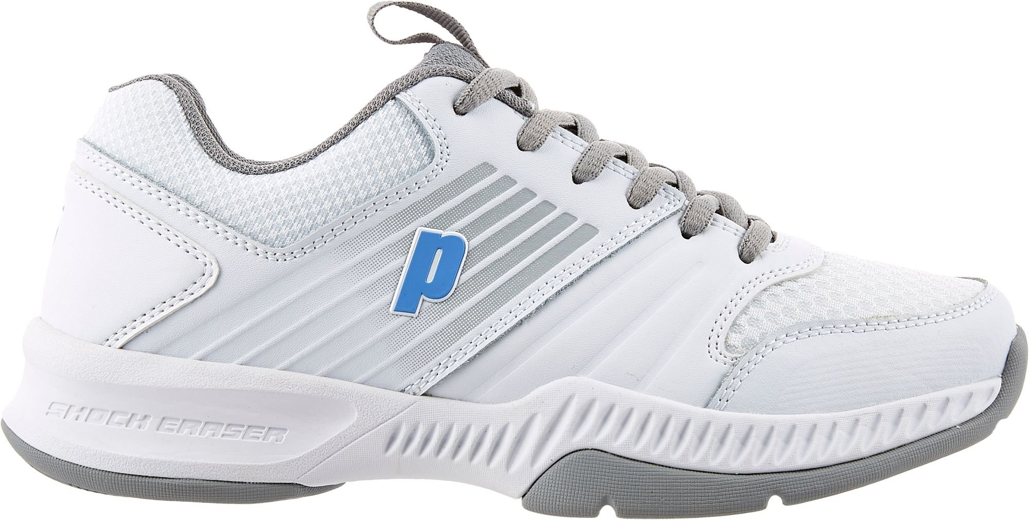 Prince Women's Truth Tennis Shoes (8.5-M, White/Blue)