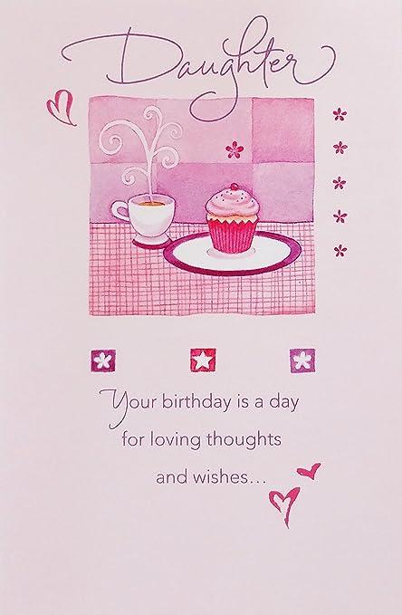 Amazon.com: Hija – Tarjeta de felicitación de cumpleaños ...