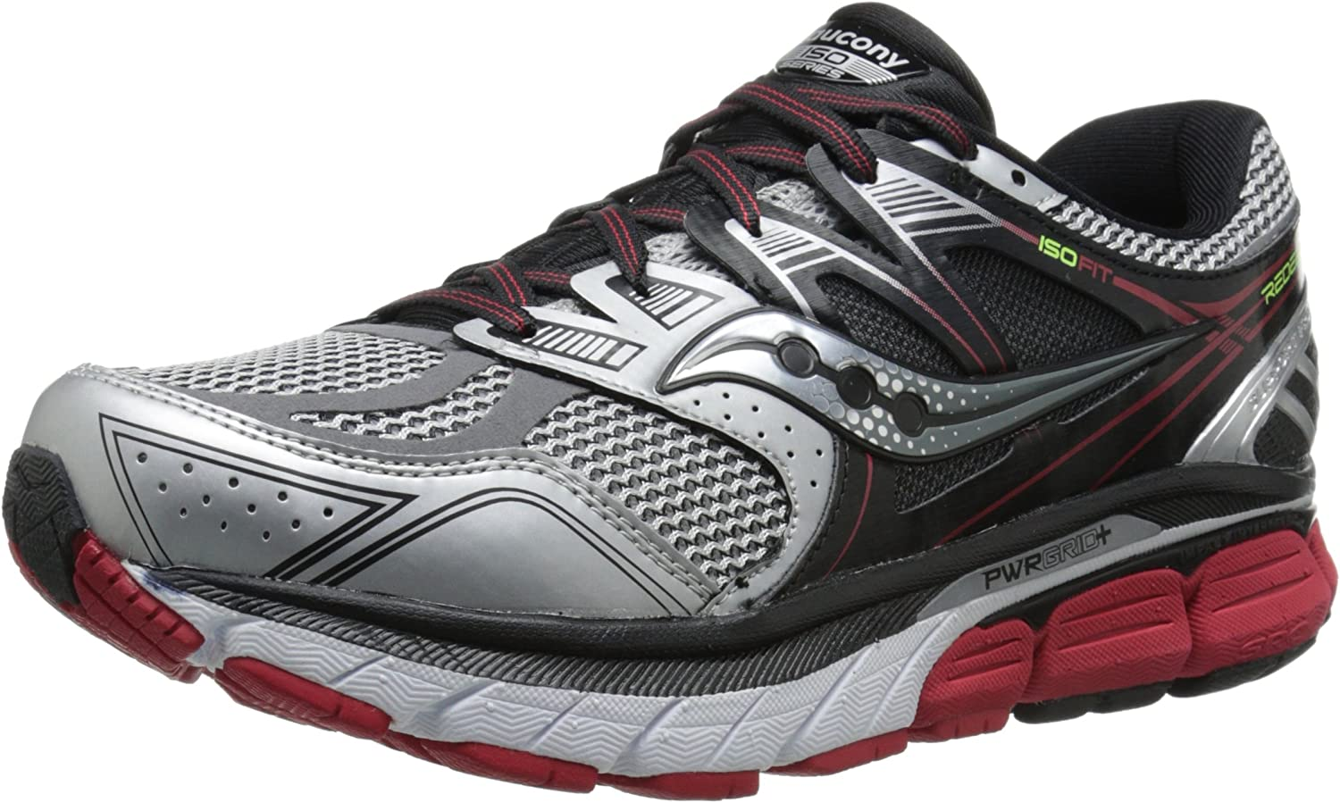 Saucony Men s Redeemer ISO Road Running Shoe