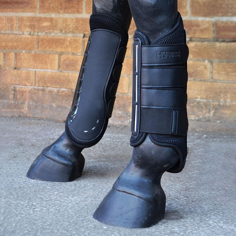Y-H Hy - Botas protectoras para eventos (largas, color negro)