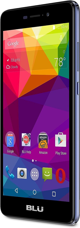 BLU Life XL - LTE Smartphone - GSM Unlocked - 8GB +1GB RAM - Dark Blue