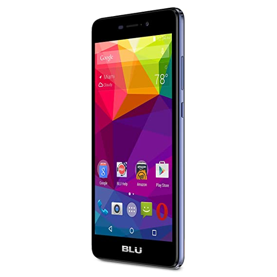 BLU Life XL   LTE Smartphone   GSM Unlocked   8GB +1GB RAM   Dark