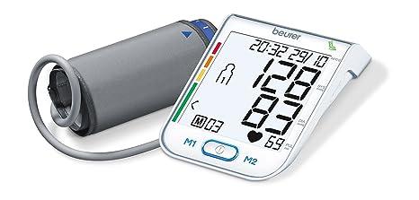 Beurer BM-75 - Tensiómetro de brazo, indicador OMS, conexión a PC,