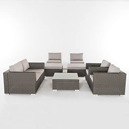 Amazon.com : Great Deal Furniture Karl Outdoor 6 Seater ...