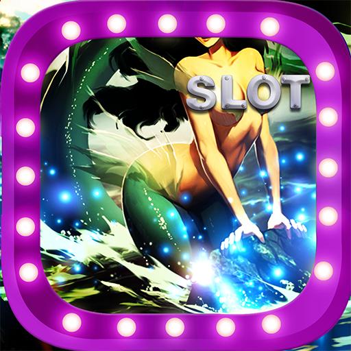 Mermaid Jackpot Slots Vegas : Town Slot Machines Deluxe Caesar Casino - Center Vegas Town