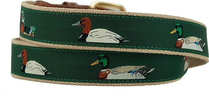 Mallard Duck on Green Silk Tie ideal Shooting Gift NEW
