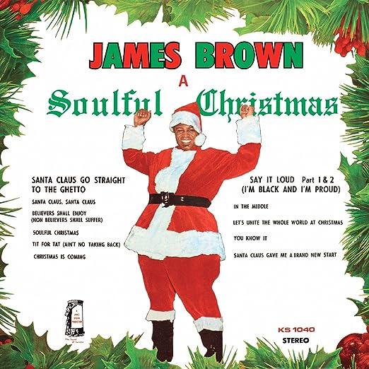 Brown James James Brown A Soulful Christmas Amazon Com Music