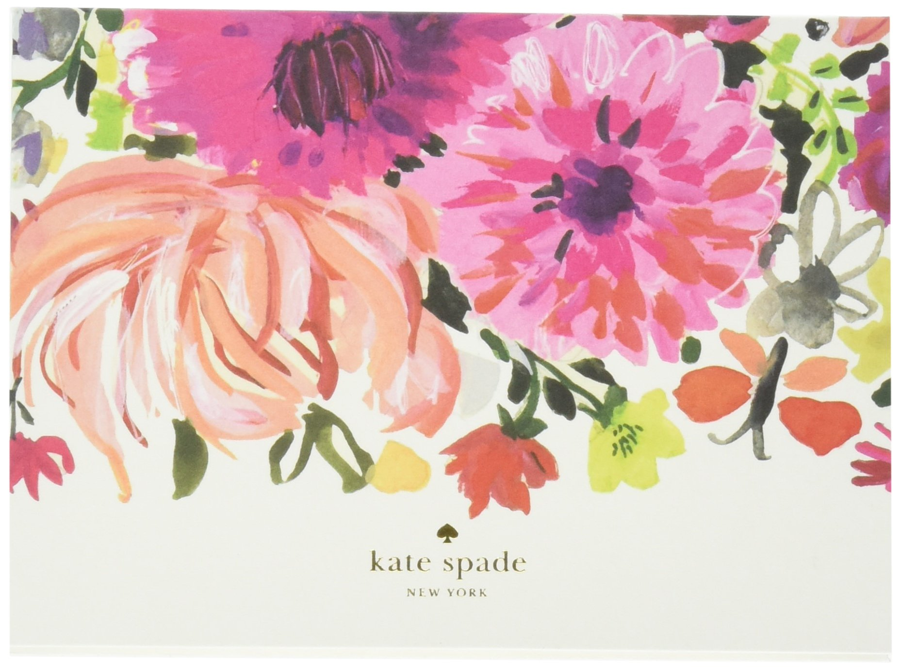 Kate Spade Fold over Card Set, Dahlia, Multi (174031) by Kate Spade New York
