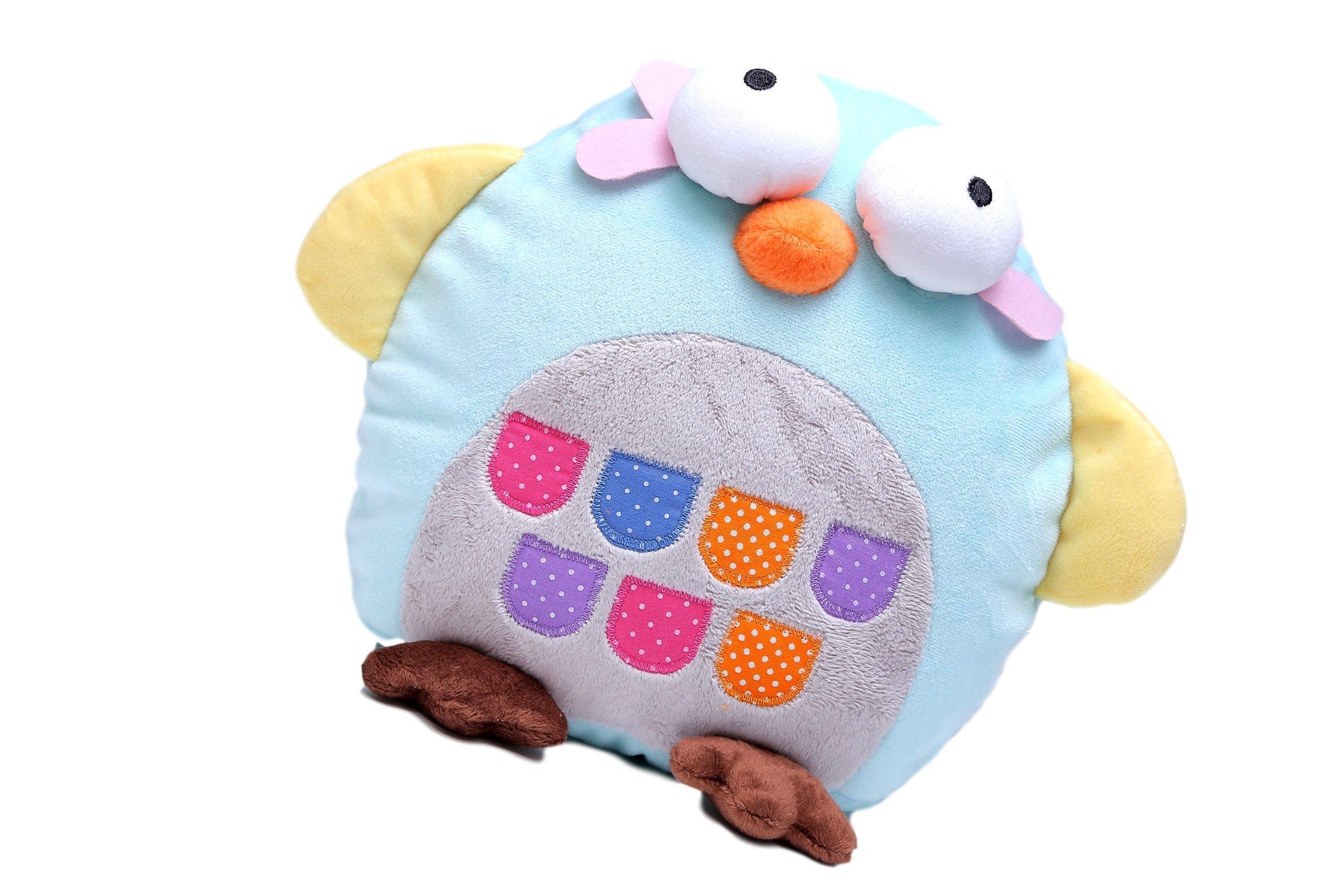 Fun Travel Neck Pillow Changes To Stuffed Animal Toy For Your Child -- Firm Support U-Shape Keeps Head Upright and Comfortable Even on Long Car and Plane Trips. Makes a Great Carry-On or Gift