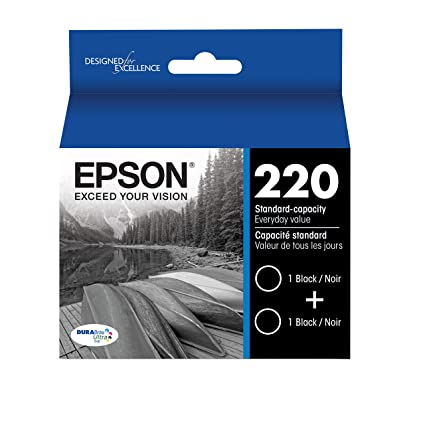 Epson T220120-D2 - Cartucho de tinta para impresoras (Negro ...