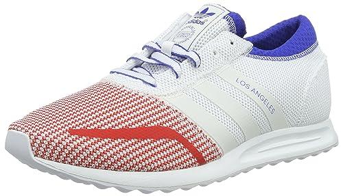 adidas Los Angeles Calzado 8,5 ftwr white/bold blue: Amazon.es: Zapatos y complementos