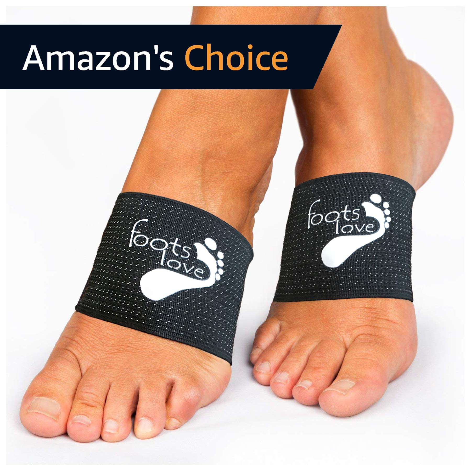 Foots Love. ❤ Plantar Fasciitis Arch Support - Compression Copper Braces/Sleeves. Recommend for Flat Feet, Heel Spurs and High Arch Pain Relief. We Started The Trend and Still The Best…