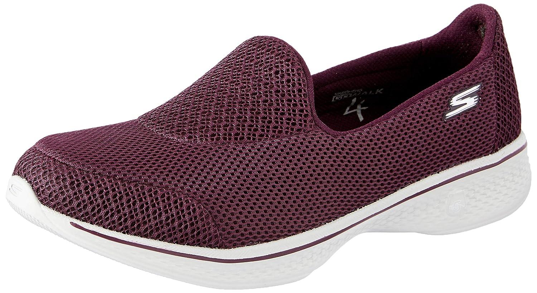 Skechers GO Walk 4Propel Slip on Damen Bordeaux Slip on