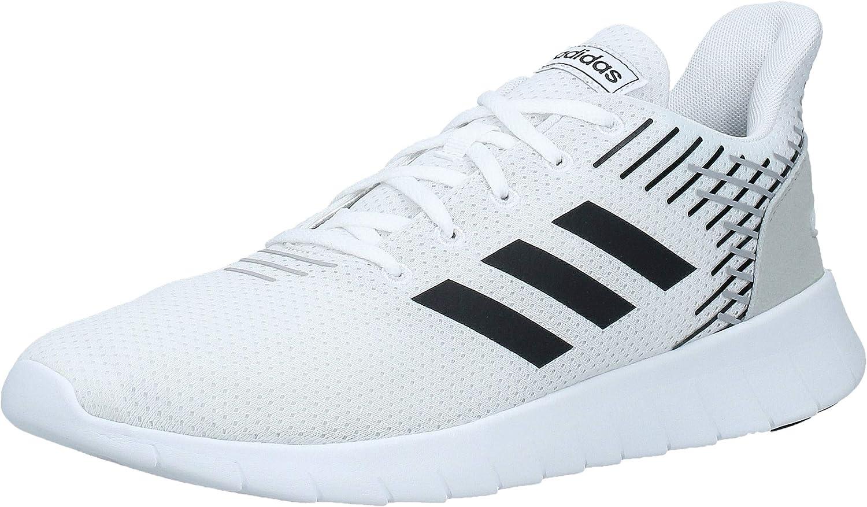 Adidas ASWEERUN, Zapatillas de Deporte para Hombre, Blanco (Ftwbla/Negbás/Gridos 000), 44 2/3 EU