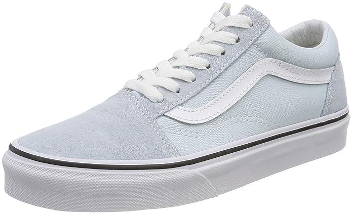 Vans Old Skool Schuhe Damen Baby Blau