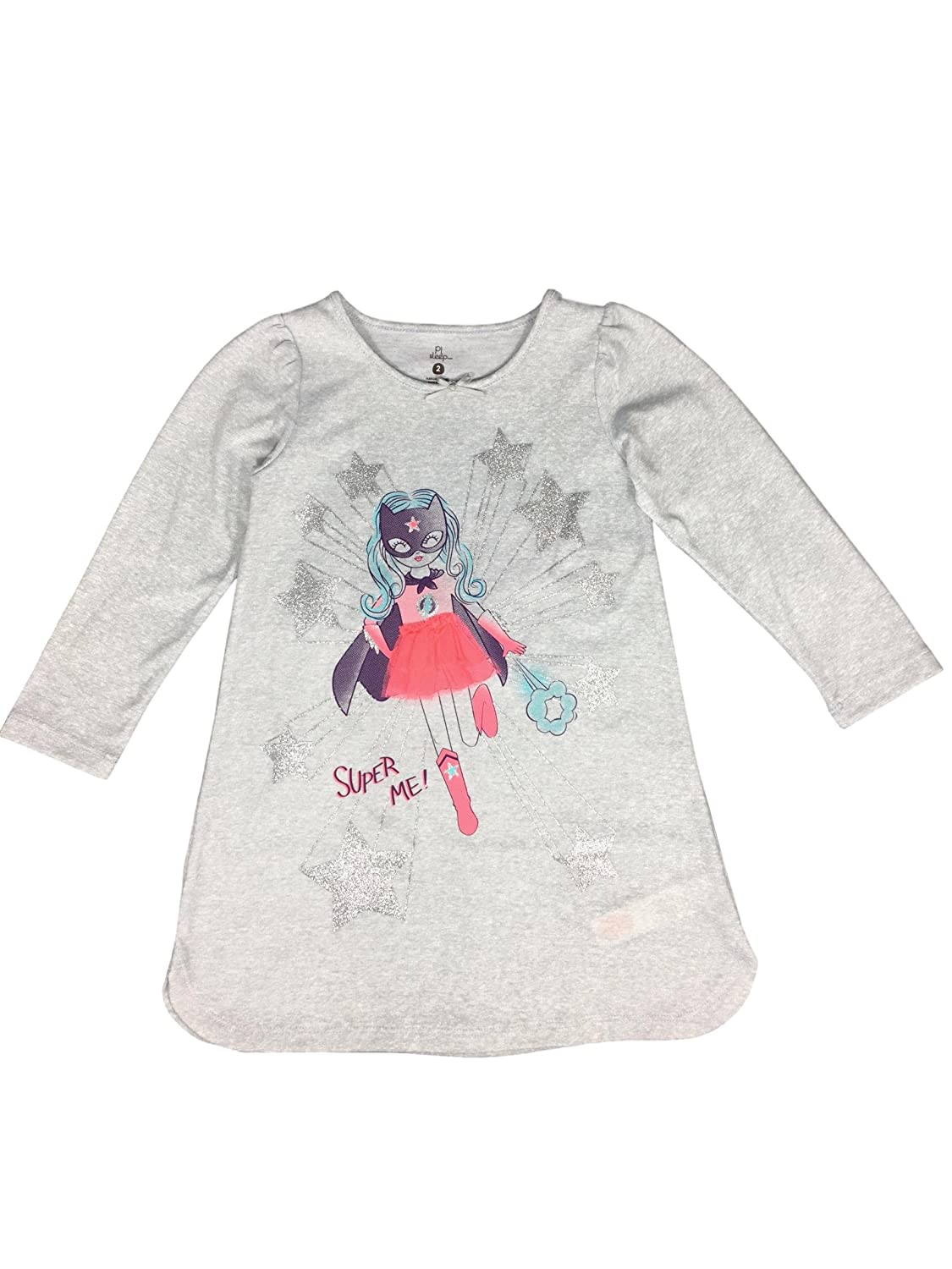 Lightweight Materials Cute and Cozy Pajamas Little Girl Nightgown Perfect Year Round.