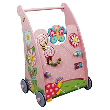 Andador de madera con actividades Magic Garden de Fantasy Fields TD11639A: Amazon.es: Bebé