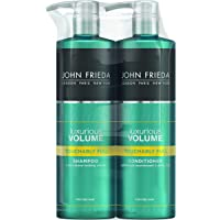 John Frieda Duo Pack Luxurious Volume Touchably Full Volumising Shampoo and Conditioner Set for Fine Hair, 2 x 500 ml