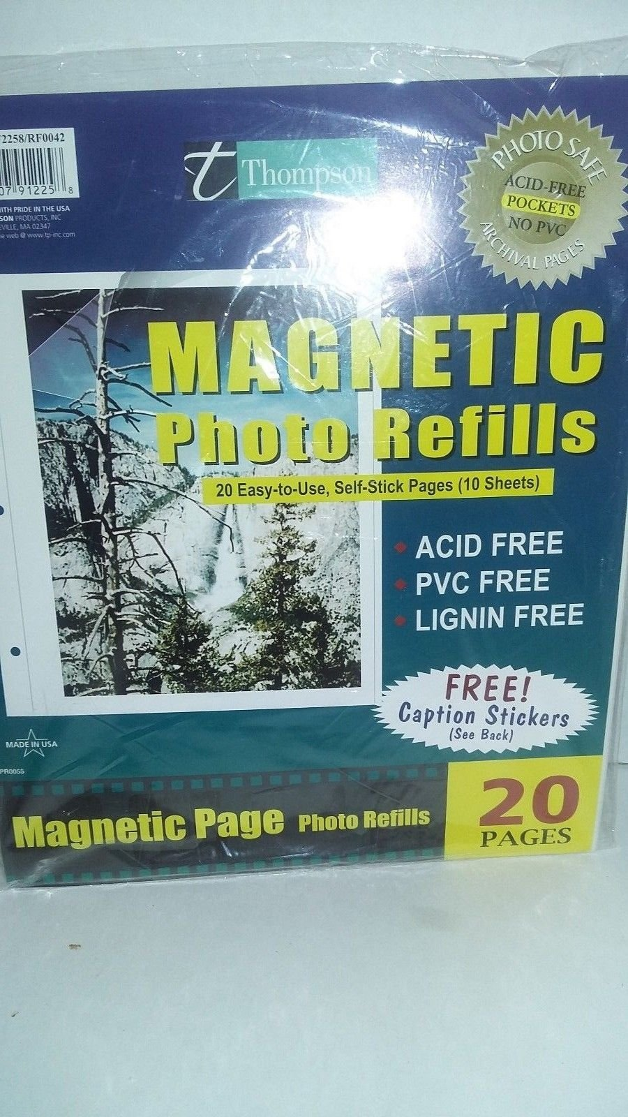 Thompson Magnetic Photo Refills 20pages
