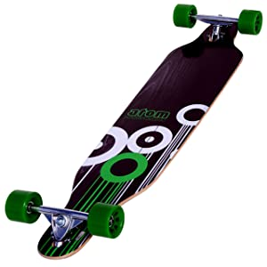 Drop-Through Longboard/Skateboard [Atom] detail review