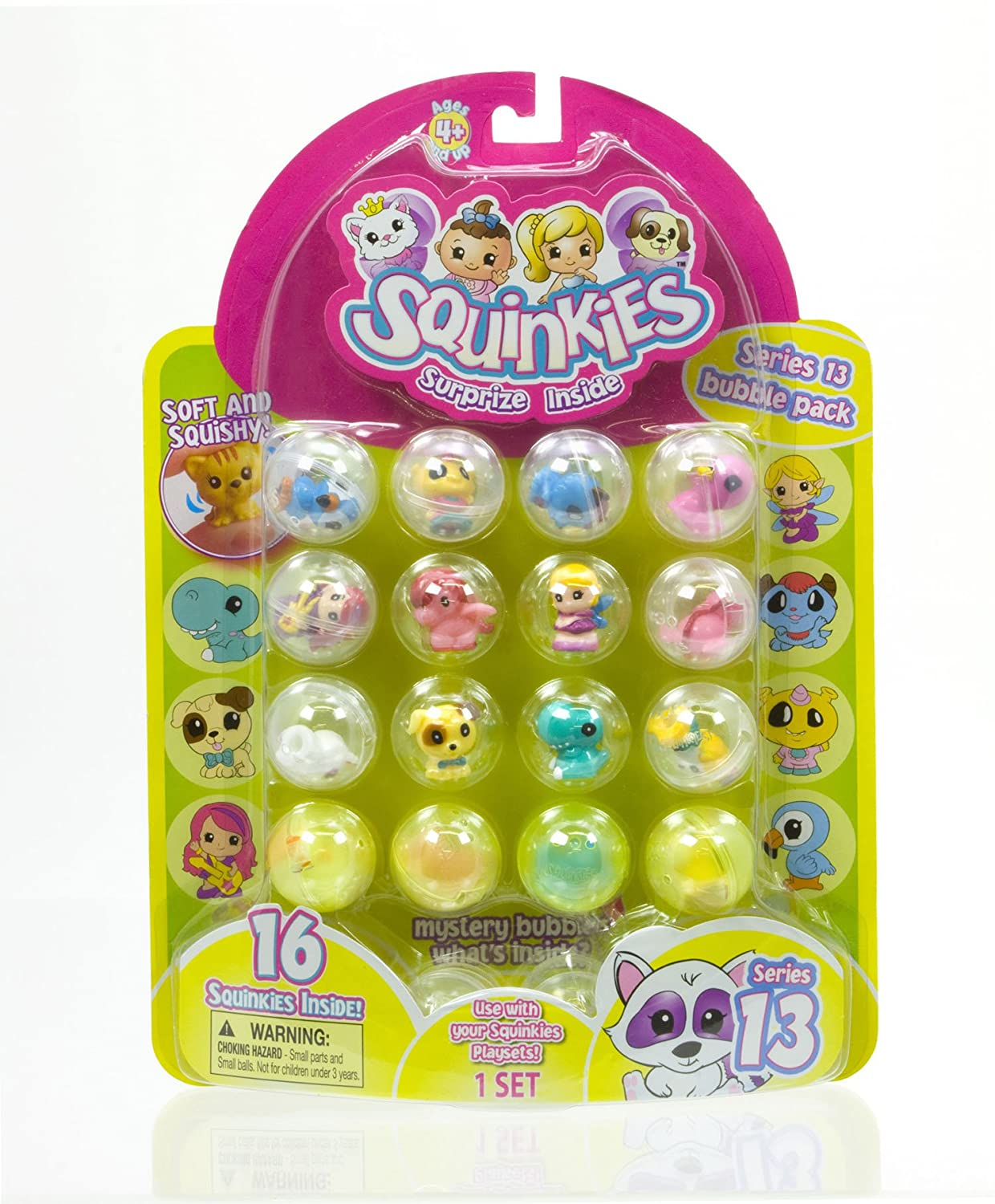 Disney-Princess-Squinkies-Set-Cinderella-Bubble-Pack-Boys-Barbie-Fuzzies thumbnail 26