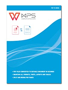 WPS PDF to Word Converter [Download]