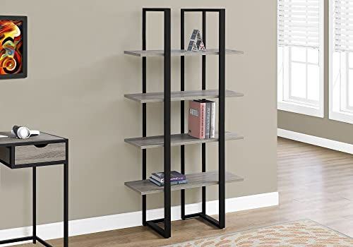 Deal of the week: Monarch Specialties I Bookcase-60 H Black Metal