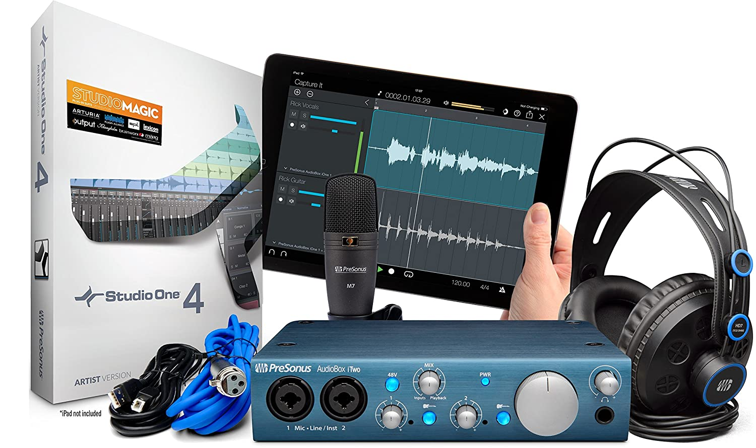 PreSonus AudioBox iOne 2x2 USB/iPad Audio Interface