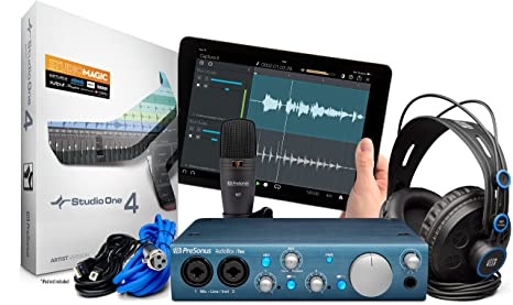 Presonus AudioBox iTwo Studio Bundle Scheda Audio USB c4472372db7b