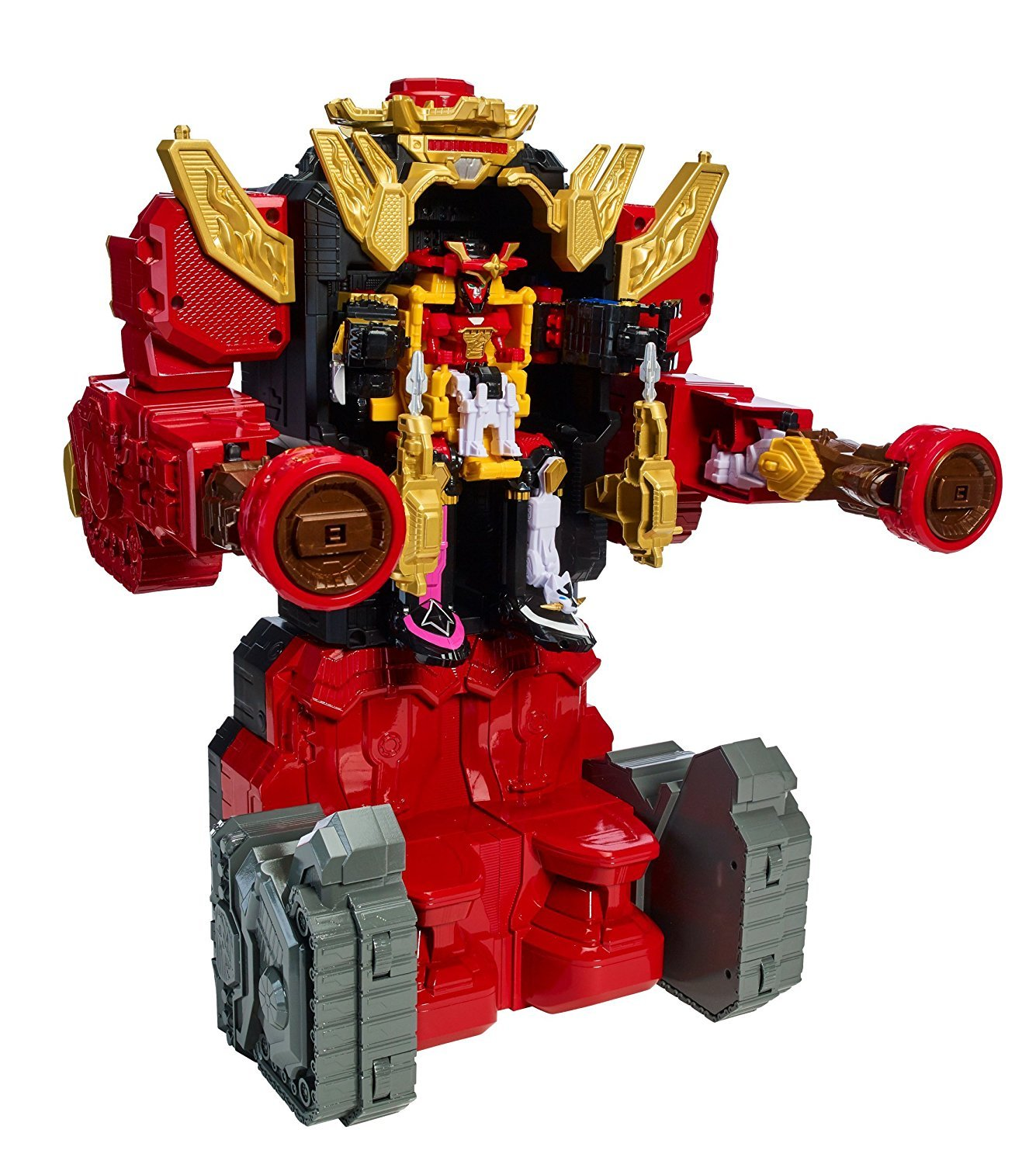 Amazon.com: Power Rangers Ninja Steel - Lion Fire Fortress ...