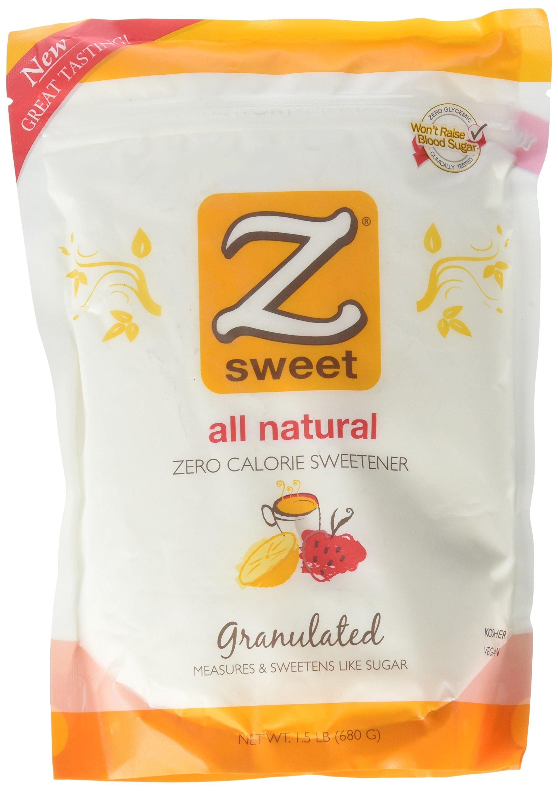 Zsweet All Natural Zero Calorie Sweetener - 1.5 lb