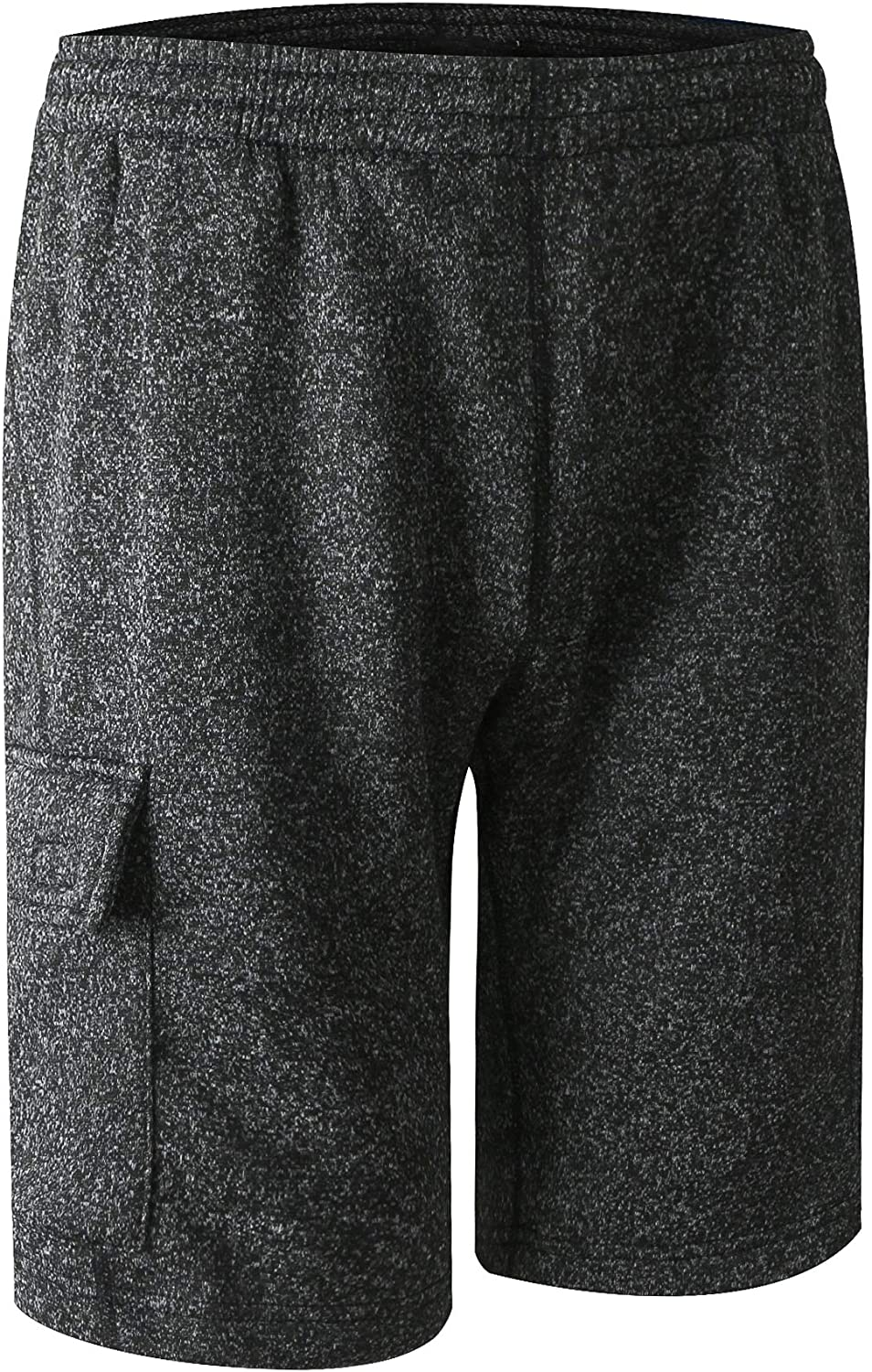URBEX Mens Athletic Shorts with Drawstring Casual Short Sweat Pants for Gym Workout Sports