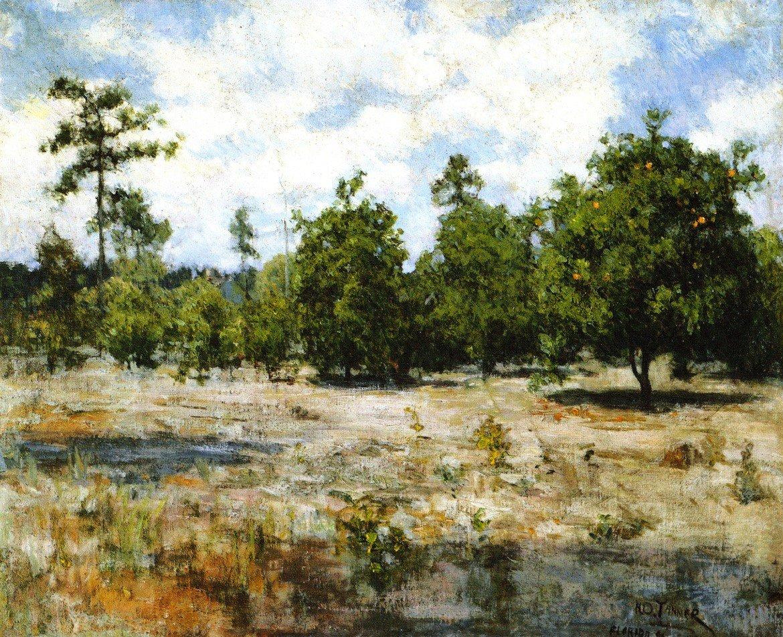 フロリダ州 – by Henry Ossawa Tanner – Unframed 20