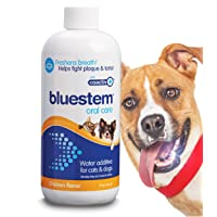 bluestem Pet Water Additive Oral Care: for Dogs & Cats Bad Breath, Dental Rinse...