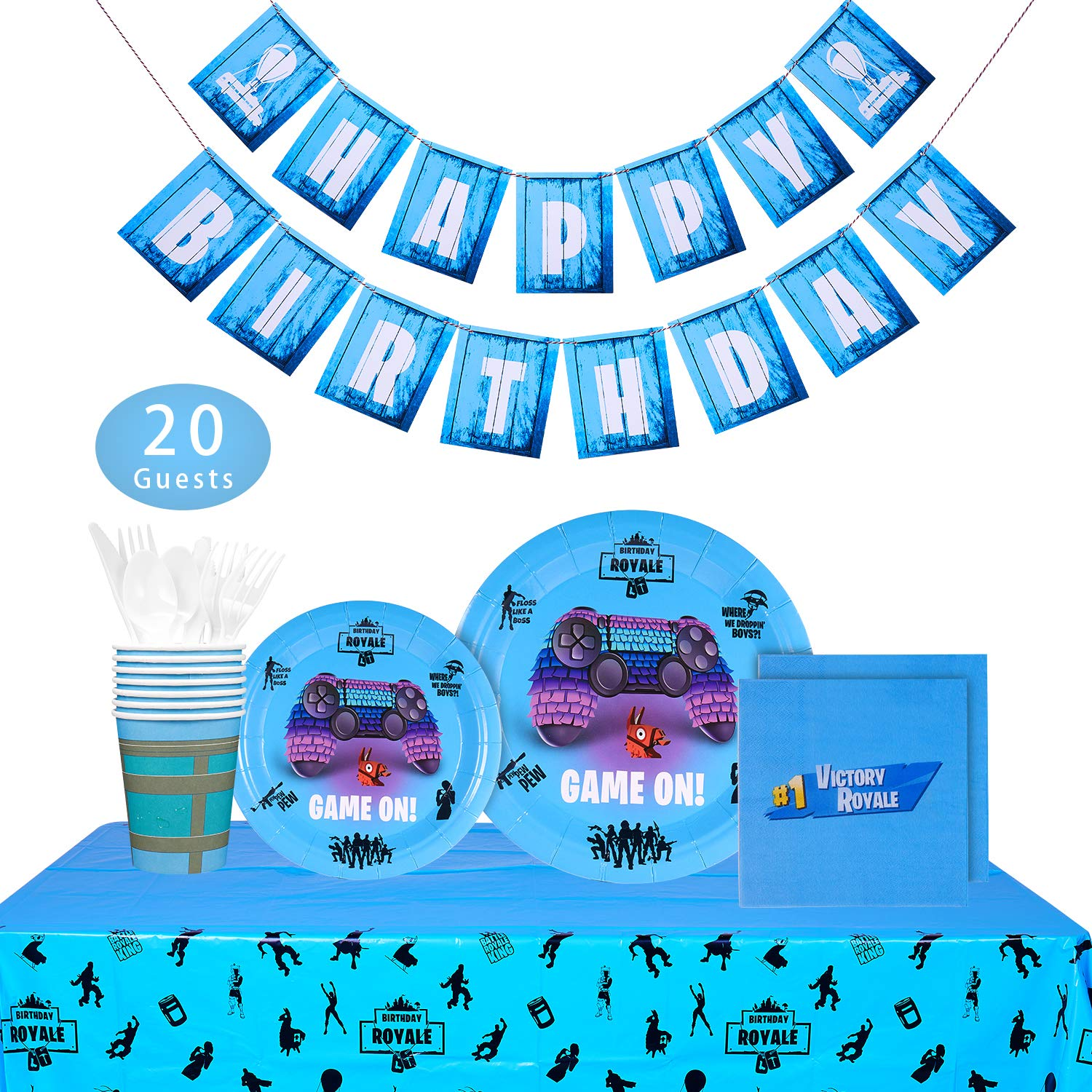 Fortnite Party Bundles for 20 Guests