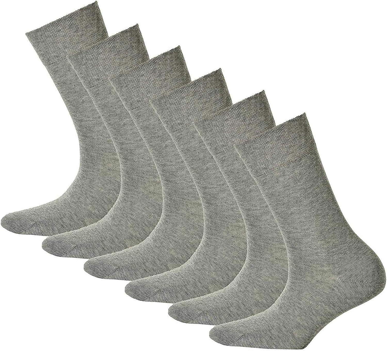 Hudson 6 Pares Calcetines Mujer, Relax Algodón Media, Cintura Cómoda, Liso (6 X 1 Par): Amazon.es: Ropa y accesorios