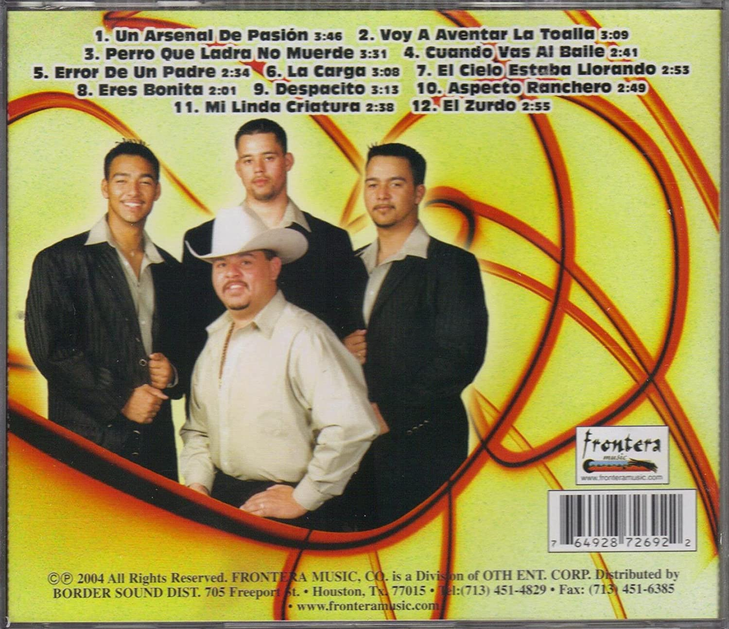 FRONTERA MUSIC CD 2004 - Grupo Feroz De Gerardo Robles, perro Que Ladra No Muerde... - Amazon.com Music