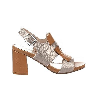 Miglio Sandales Nu pieds femme - - Gris argent - 36 Miglio soldes Kf6ap