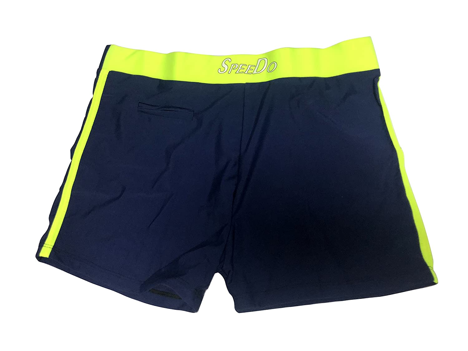 01fe495cc7 Men's / Boys Swimming trunks / swim wear - Blue with Neon Green - XXL (30 -  32 inches): Amazon.in: Clothing & Accessories