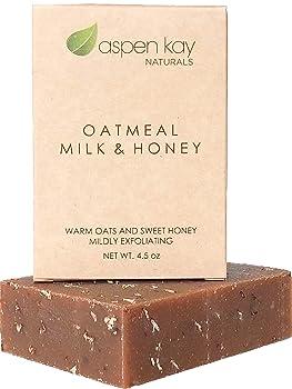 Aspen Kay Naturals Organic Oatmeal Soap Bar