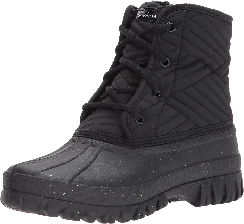 Skechers Damen Windom Stiefel, Schwarz: : Schuhe 2Q5AU