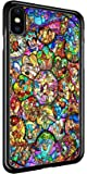 Disney All Characters Stained Glass iPhone X Protective TPU Rubber iPhone Case
