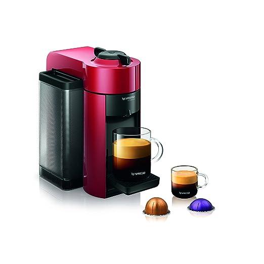 Nespresso GCC1-US-RE-NE VertuoLine Evoluo Coffee and Espresso Maker