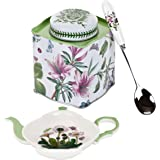 Portmeirion Botanic Garden 3-Piece Tea Accessory Set