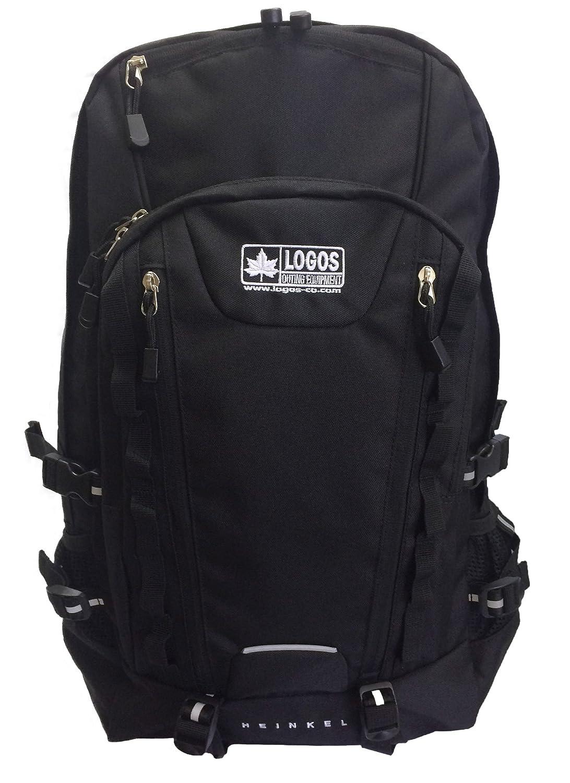 【ロゴス】LOGOS リュック デイパック 黒 機能ポケット 大容量 30L 79-84F B01HLRURZ2